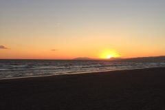 Sunset Torrox Beach